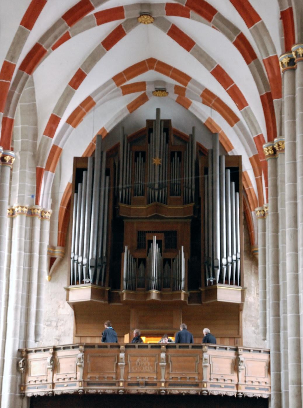 Blasiuskirche MHL Orgelempore Westen