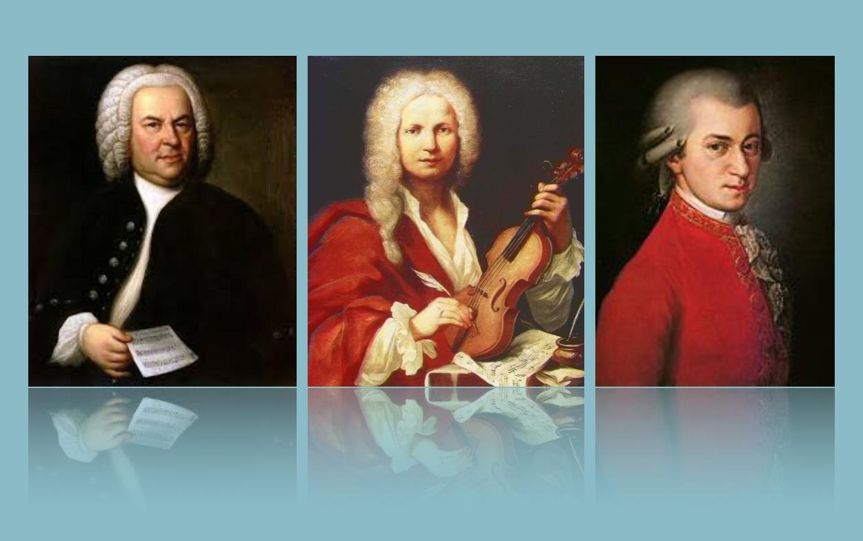 Bach, Vivaldi and Mozart