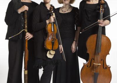 Noel Rainbird, Jean Paterson, Nancy-Jane Rucker, Gabriel Amherst (credit Nick Rutter)