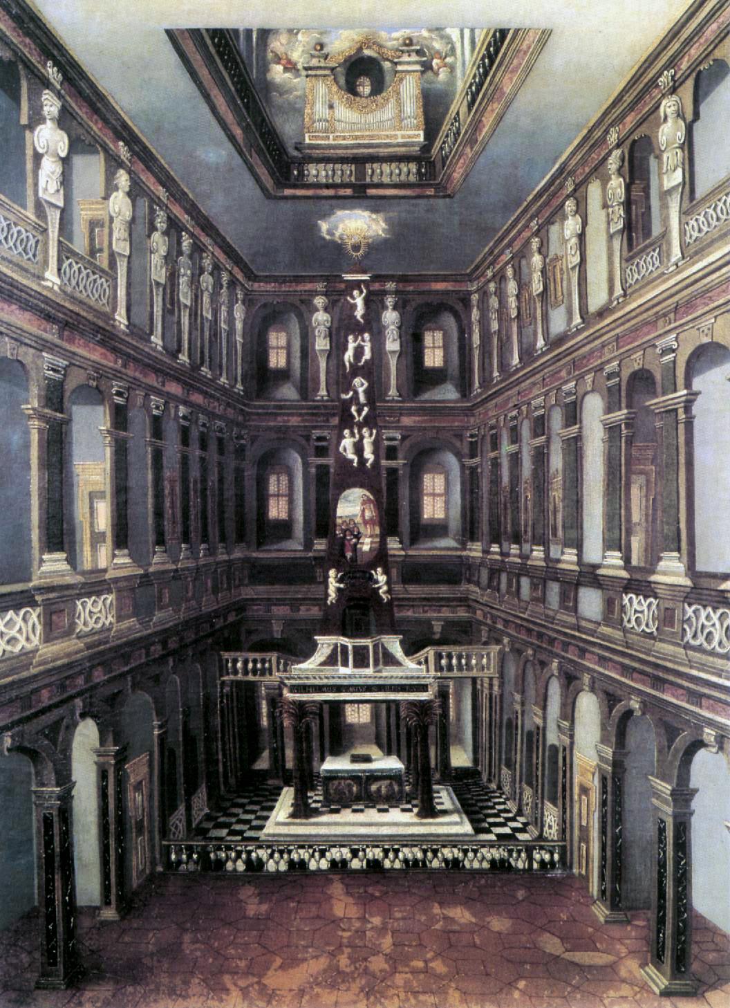 Schlosskirche, Weimar, 1660