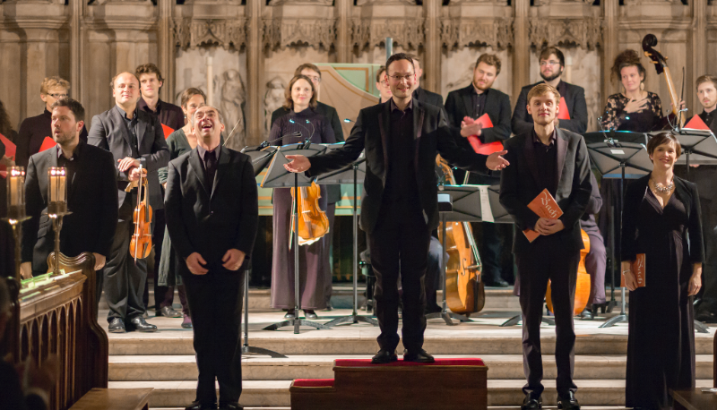 Oxford Bach Soloists with Ben Davies, James Gilchrist, Tom Hammond-Davies, Alexander Chance, and Cecilia Osmond
