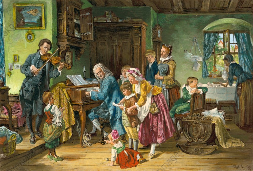 Bach: The husband, the father, and the family man - Oxford Bach Soloists