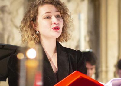 Steph Franklin, mezzo soprano (credit Nick Rutter)