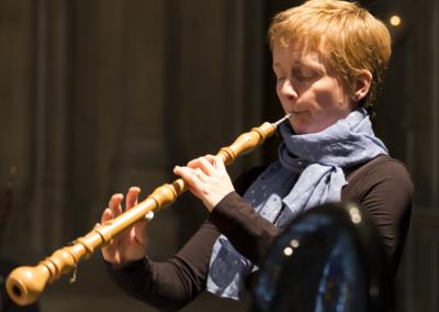 Frances Norbury, oboe d'amore (credit Nick Rutter)