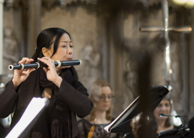 Yu-Wei Hu, flute (credit Nick Rutter)
