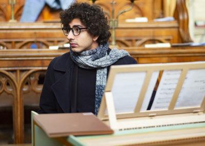 Anhad Arora, harpsichord (credit Nick Rutter)